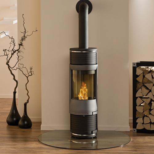 guss kaminofen unica. Black Bedroom Furniture Sets. Home Design Ideas